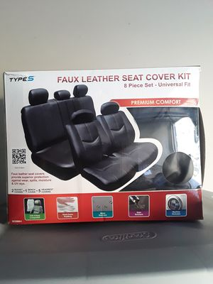 Leather seat covers for Sale in San Marcos, CA