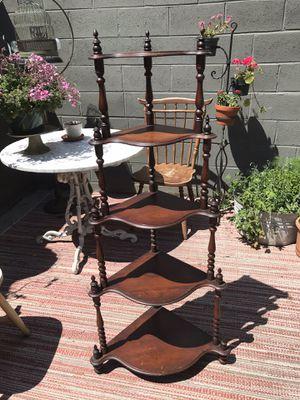 Victorian 5 tier corner shelf for Sale in Philadelphia, PA