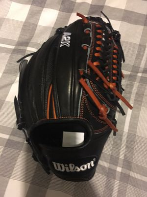 Wilson A2k baseball glove new with tags $240 11.75 Softball for Sale in Pomona, CA
