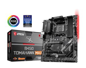 MSI B450 TOMAHAWK MAX, AMD Motherboard. for Sale in Knoxville, TN