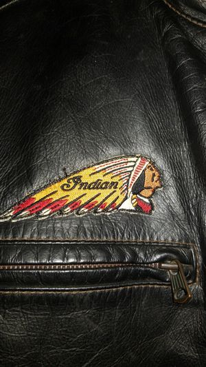 Leather Jacket Indian Motorcycle for Sale in Inglewood, CA