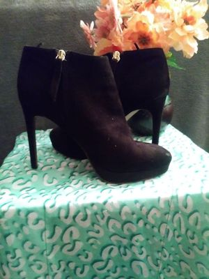 Black heeled booties for Sale in Portland, OR