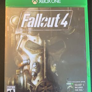 Fallout 4 - Xbox One for Sale in Silverado, CA