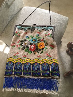 Vintage glass bead tapestry purse for Sale in Garfield Heights, OH