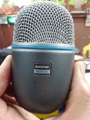 Shure Beta 52 Bass Drum Microphone for Sale in Fremont, CA