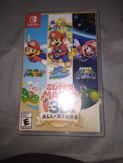 Super Mario 3d All Stars NO DELIVERY for Sale in Fresno,  CA