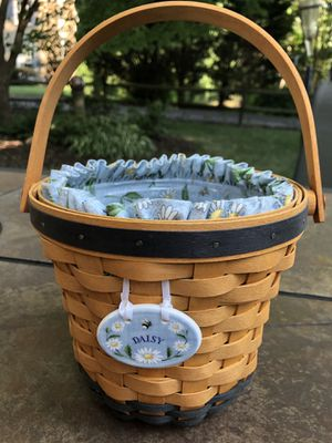 Longaberger Daisy basket for Sale in Springfield, VA