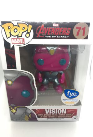 Avengers Age of Ultron Vision FYE exclusive Funko POP for Sale in Corona, CA