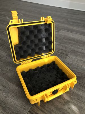 Heavy duty shockproof waterproof storage container pelican case for Sale in Tampa, FL