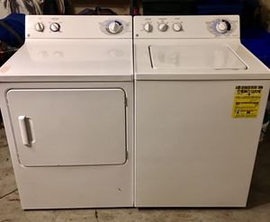 May tag washer and dryer for Sale in Boyds, MD
