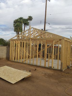 If u need a guest house, patio or anything about framing l can make it for Sale in Mesa, AZ