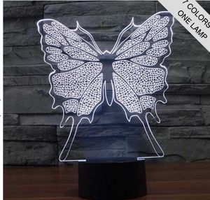 BUTTERFLY 3D ILLUSION LAMP for Sale in Garland, TX