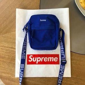 Blue supreme shoulder bag for Sale in Escondido, CA
