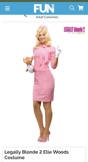Elle Woods Costume Brand New for Sale in Cicero, IL