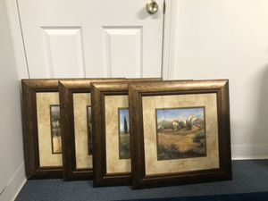 4 wall arts for Sale in Old Bridge Township, NJ