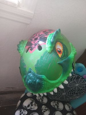 Dinasour helmet for Sale in Tampa, FL