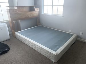 Head board and box spring up for grabs for Sale in Hayward, CA