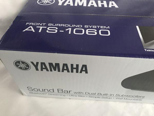 New Yamaha Ats 1060 Sound Bar With Dual Built In Subwoofers