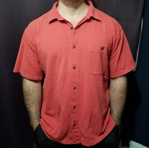 Patagonia Men's Short Sleeve Shirt. Size M. Good condition. Preowned for Sale in Houston, TX