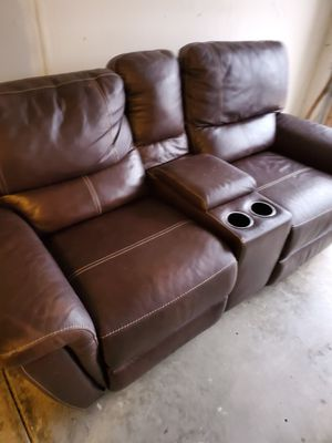 Couch w/ reclining seats for Sale in Brentwood, NC