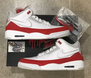 Nike Air Jordan 3 Retro Tinker Red White Mens 11 for Sale in Buffalo, NY
