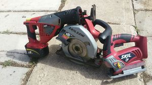 Cordless 18 volts skil set.no charger for Sale in Denver, CO