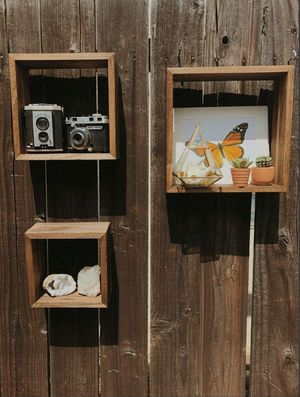 Solid wood floating shelves / boho home decor for Sale in Whittier, CA