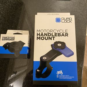 Quad Lock Motorcycle Phone Mount for Sale in Sacaton, AZ