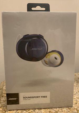 BOSE SOUNDSPORT FREE WIRELESS HEADPHONES for Sale in Philadelphia, PA