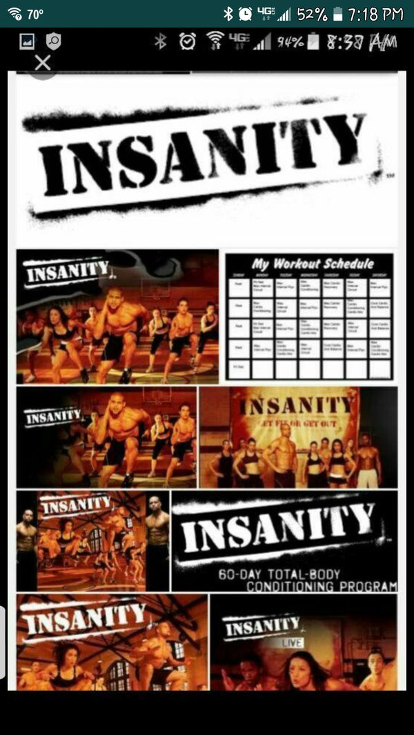 USB not DVDs  Workout videos    Insanity, T25, 21 Day fix, Brazil Butt  lift , Insanity Max 30  $25 00 each workout for Sale in Colton, CA - OfferUp