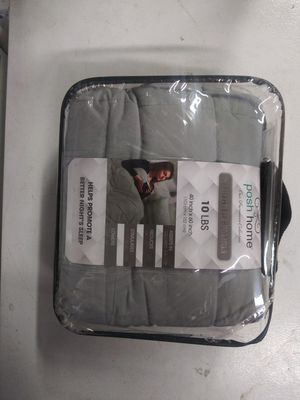Microfiber Weighted 10lb Blanket for Sale in Las Vegas, NV