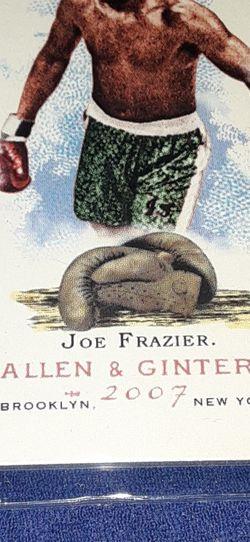 Smokin Joe Frazier 2007 Allen And Ginter for Sale in Garland,  TX