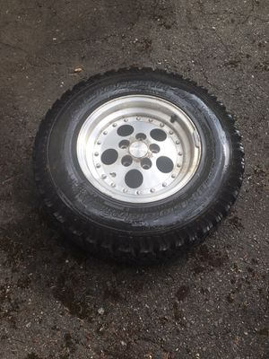 Jeep wheel and tire for Sale in Lynnwood, WA