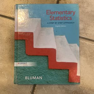 Elementary Statistics 8th Edition Bluman for Sale in Downey, CA