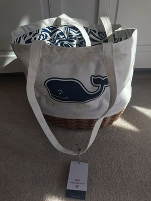 Vineyard vines target picnic tote bag for Sale in Fairfax, VA