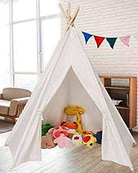 New in box 5.5 ft Kids Cotton play house Canvas Teepee Playhouse Sleeping Dome Play Tipi Tent canopy Playhouse for Sale in El Monte, CA