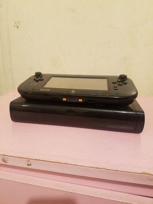 Wii u,black for Sale in Bakersfield, CA