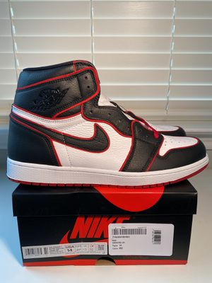 Nike air Jordan 1 bloodline size 14 brand new for Sale in New Braunfels, TX
