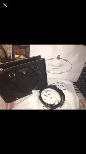 Prada(saffiano mini double zip tote bag) for Sale in College Park, MD