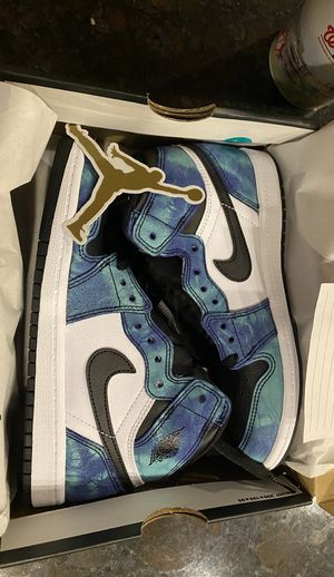 Jordan 1 Tie Dye size 2Y (PS) DS for Sale in Raleigh, NC