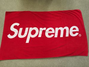 Supreme Box Logo Beach Towel for Sale in Chula Vista, CA