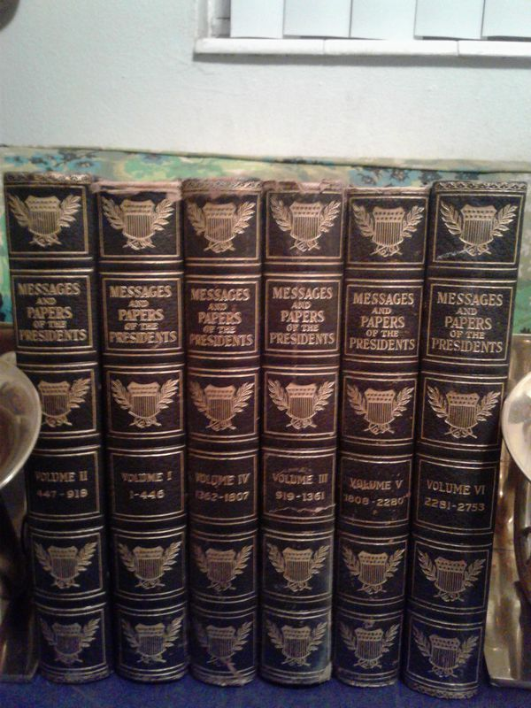 Messages & papers of the Presidents 1897  for Sale in Lakeland, FL - OfferUp