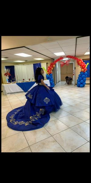 Royal Blue Ragazza Quinceanera Dress for Sale in Las Vegas, NV