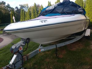 1996 Searay bowrider with 130hp outboard and trailer for Sale in Warwick, PA