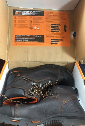 Timberland PRO Men's Endurance PR 6'' Steel Toe Work Boots for Sale in Lynn, MA