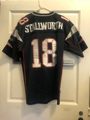 Blue Donte Stallworth New England Patriots Reebok Jersey Mens Size 54 (2 X-Large) for Sale in Philadelphia, PA