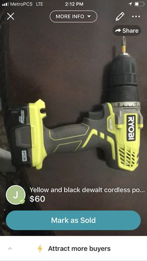Ryobi compact drill for Sale in US
