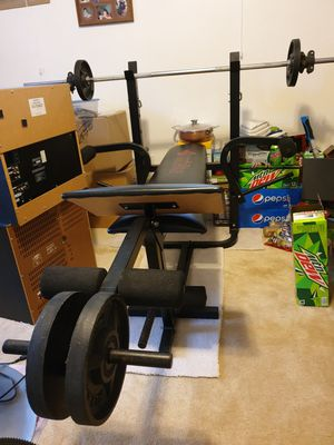 weiider trainer master home gym for Sale in Tacoma, WA