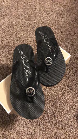 Michael Kors flip flops for Sale in Canton, MI