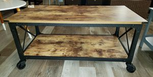 NEW Sauder Industrial Style Farmhouse Coffee Table for Sale in Burlington, NJ